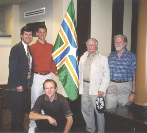 Ted & Mason Kaye, Fred Paltridge, Doug Lynch, and John Hood