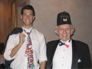 Mason Kaye and Harry Oswald
