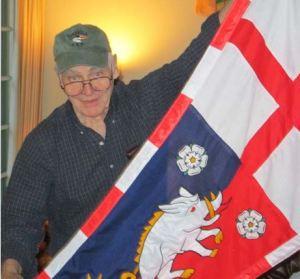 New PFA member Sam Oakland shares his custom-ordered Richard III banner.
