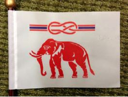 The Thai Vexillological Association flag