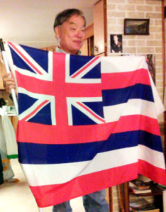 Jessie Spillers was surprised to see the Union Jack on a U.S. state flag.