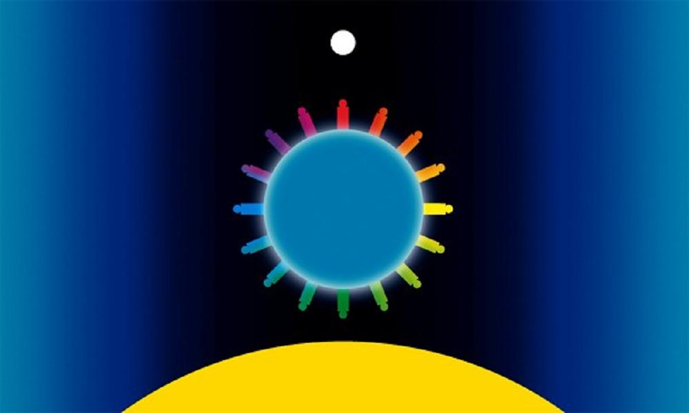Barbara Upton's Waking Planet WorldFlag