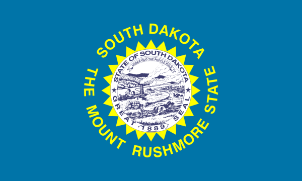 Flag of South Dakota  (from Wikipedia)