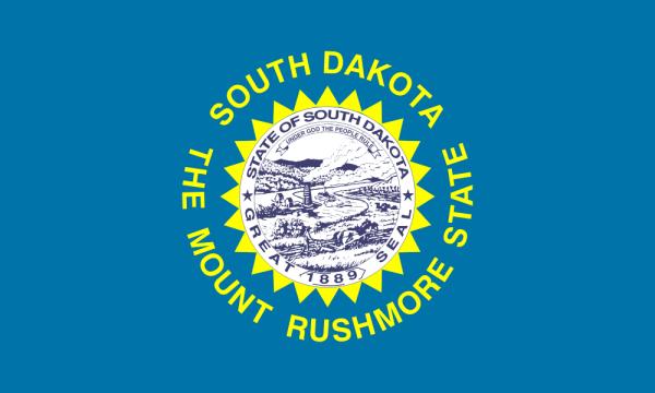 Flag of South Dakota  (from Wikipedia)