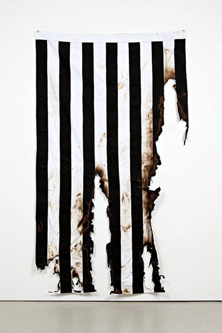 Burned Flag (Sons of Liberty). 2011.