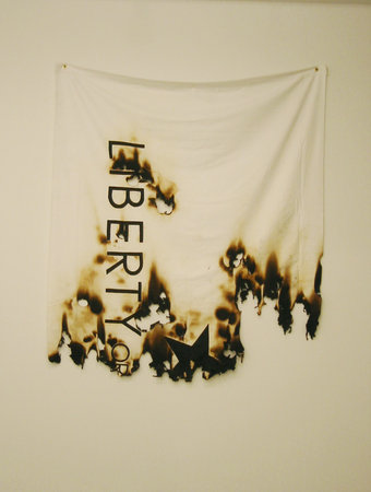Burnt White Flag. 2005.