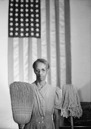 """American Gothic, Washington, D.C."" by Gordon Parks (1912-2006)"