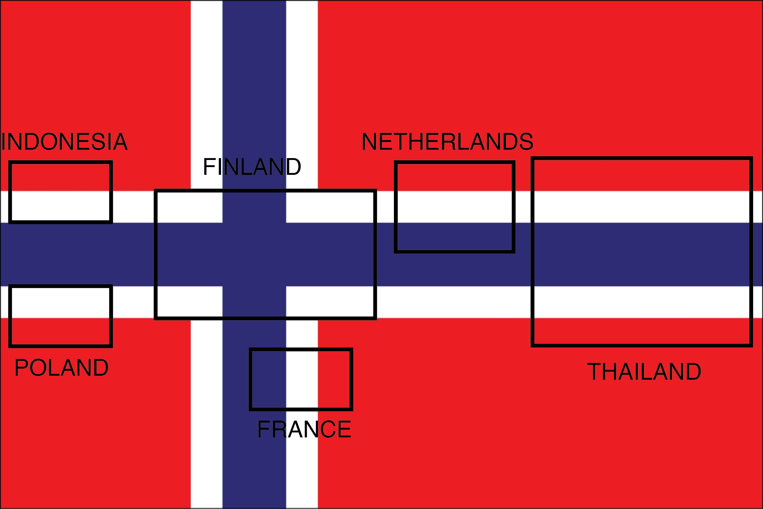 Me meaning of polish flag - The Flag Of Norway Contains Within It The Flag Designs Of Six Other Countries
