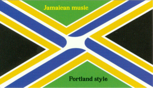 Flag of Portland's Original Middleage Ska Enjoy Club.