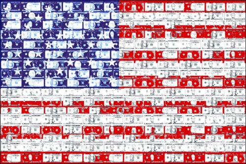 USA Money Flag I, flag art by Judy Rey Wasserman (www.ungravenimage.com).