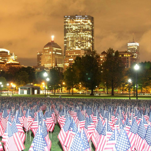 The 2014 Flag Garden. Photo from dcbarroco.wordpress.com.