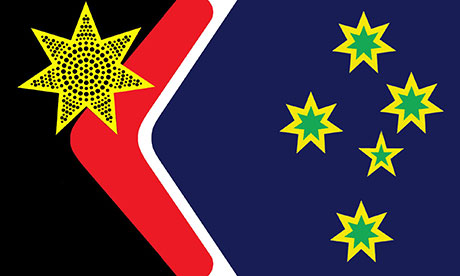 John Blaxland's proposal for a new Australia flag.