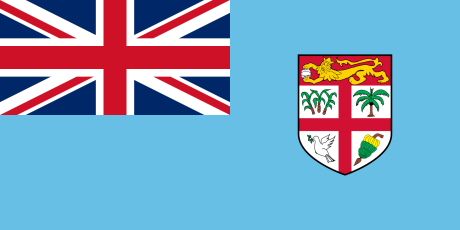 Current Flag of Fiji