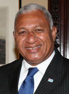 Fijian Prime Minister Bainimarama