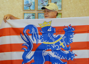 Mike Hale enjoyed the broad flag-flying he'd seen in Bruges.