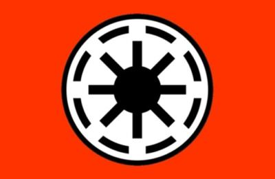Early Republic War Flag.  By Ilya Muromets, bbs.stardestroyer.net.  We hope you are paying attention, there may be a quiz on this later.