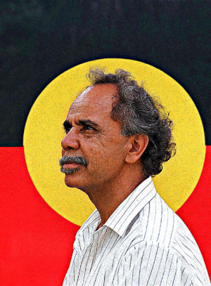 Harold Thomas, designer of the Aboriginal Flag.