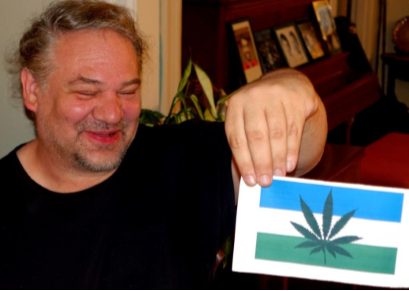 Alexander Baretich debuts a topical variant of his Cascadia flag.
