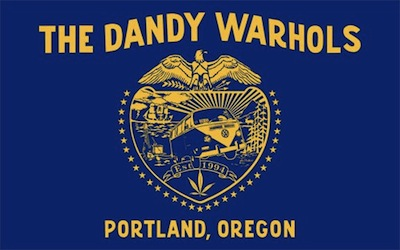 The flag of the Dandy Warhols, with (to use Maddish's term)