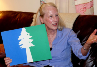 Lorraine Bushek describes her finalist entry for the Oregon flag redesign.