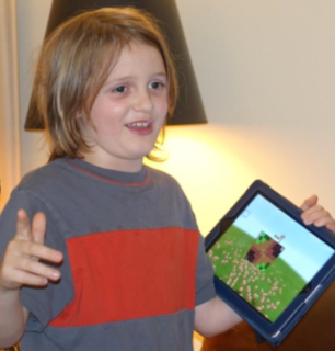 Nathaniel Mainwaring shares his Minecraft-based flag.