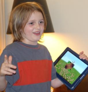 Nathaniel Mainwaring shares his Minecraft-based flag.