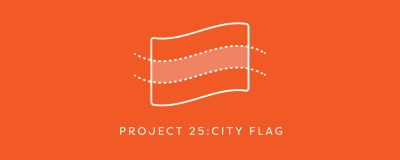 """For Project 25, we are going to be (re)designing a city flag. It doesn't matter which city. Just pick one and make a beautiful flag for it :)"" June 2015 design challenge by @LetterSociety"