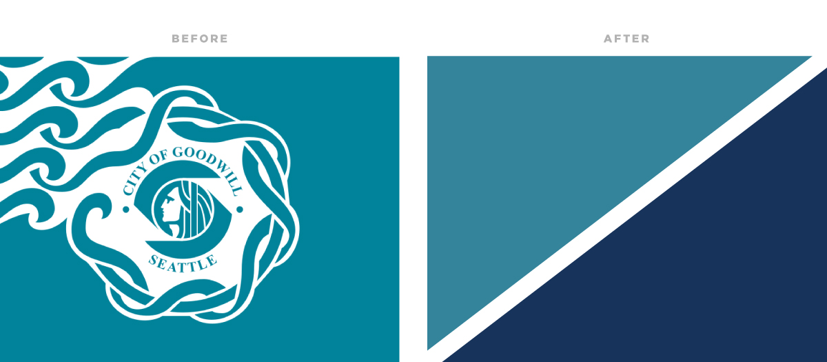 letter society project 25 city flag portland flag association