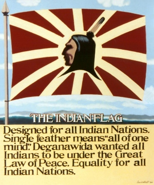 The Indian Flag, a poster