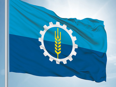 "A 2015 ""attempt to simplify the existing Milwaukee city flag"" by Paul Bartlett on dribble.com."