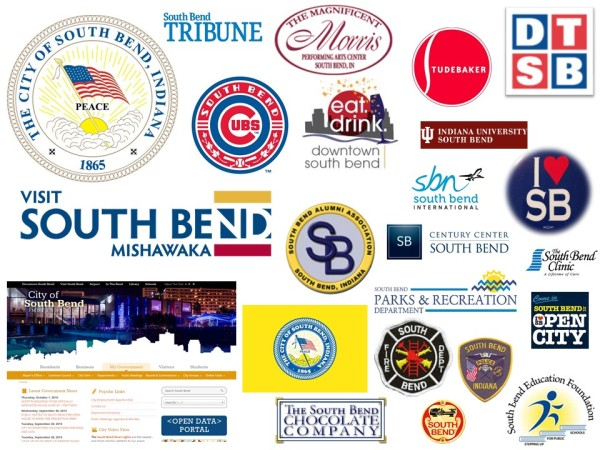 "From the contest website: Current ""South Bend"" Logos All Tend to Use a Similar Color Palette...the"