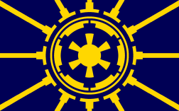 12 place: Flag of Coruscant, by chewapchich