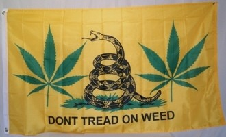 dont tread on weed flag sm