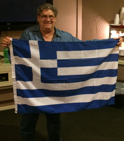 Patrick Genna sympathizes with the current plight of the Greeks.