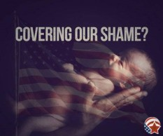 Image from the #DefundToday campaign against Planned Parenthood by the American Renewal Project.