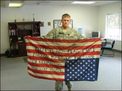 There Is No Flag LargeEnough…