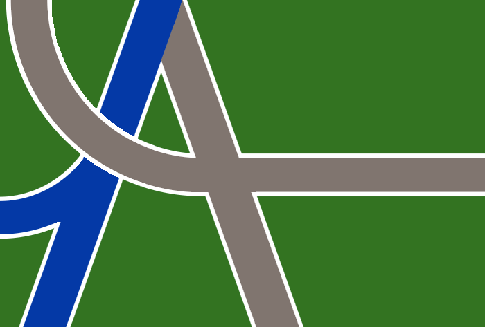 Confluence and Crossroads, the flag of Albany, Oregon
