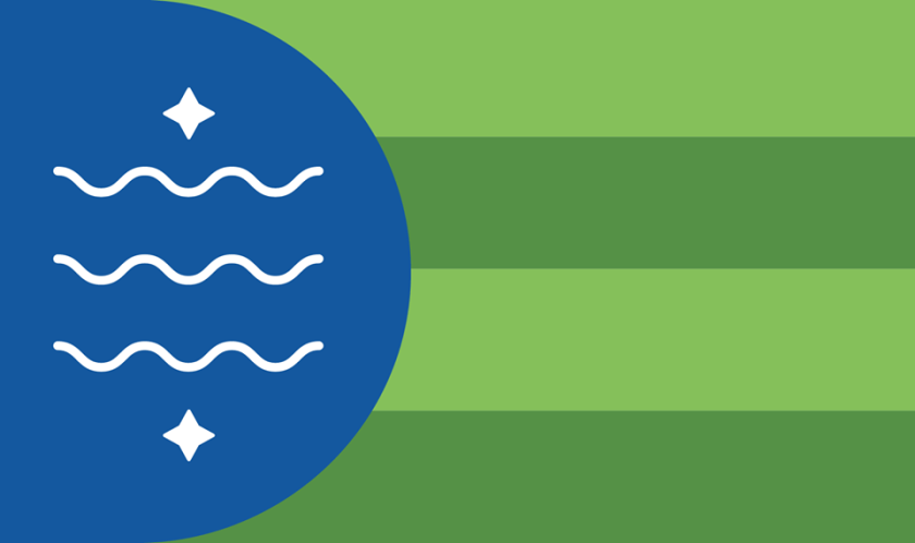 proposed flag of Bellingham, Washington