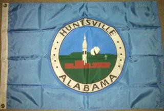 Huntsville AL flag