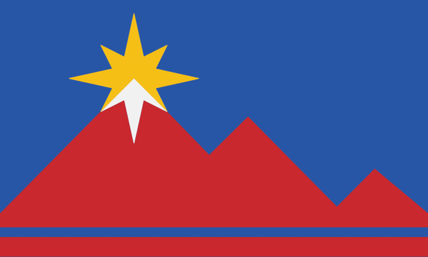 new flag of Pocatello, Idaho