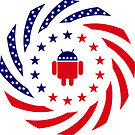 Android Murican Patriot Flag