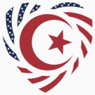Muslim American Multinational Patriot Flag