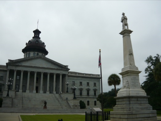 Flag Change in Columbia, South Carolina