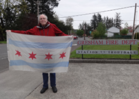 Chicago Flags Finds a New Home in Gresham